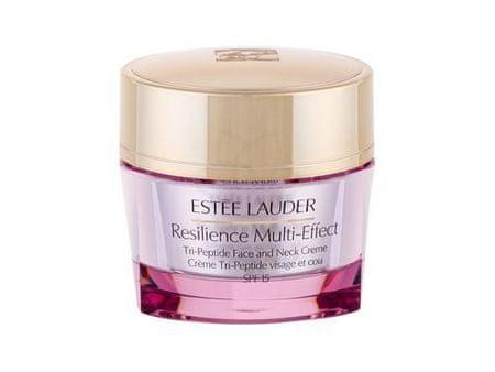 Estée Lauder Vyživující krém na obličej a dekolt pro suchou pleť SPF 15 Resilience Multi-Effect (Tri Peptide Face