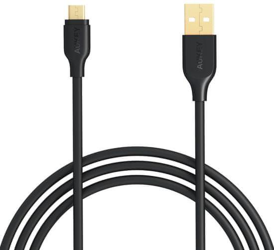 Aukey Rychlonabíjecí Micro USB kabel LLTS58189 - zlatý
