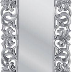 KARE Zrcadlo Italian Baroque Silver 180x90