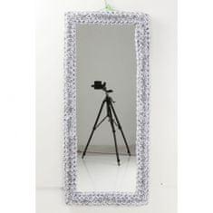 KARE Zrcadlo Rose Rectangular White 180×80 cm