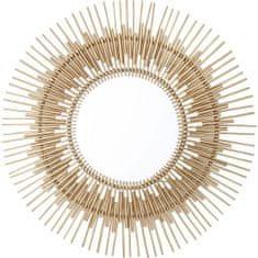 KARE Zrcadlo Icario Gold O90 cm