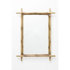 KARE Zrcadlo Bamboo 75×55 cm