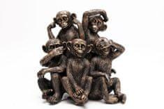 Sifcon Dekorácia - soška, opica, 23x24cm