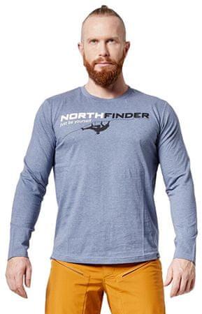 Northfinder Férfi póló Ronty TR-3461OR 319 Grey (méret M)