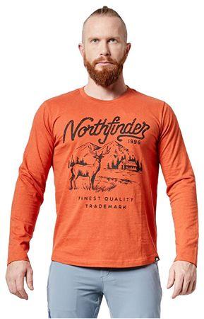Northfinder Férfi póló Huntwer TR-3462OR 293 Brown (méret XL)