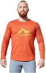 Northfinder Pánske tričko Hillon TR-3468SP 293 Brown