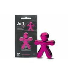 JEFF JEFF osviežovač vzduchu ružový chrome - Strawberry