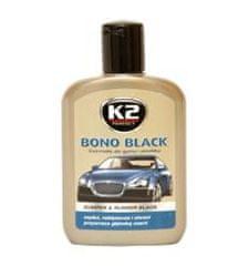 K2 K2 Čiernidlo- leštenka na plasty Bono Black 200 ml