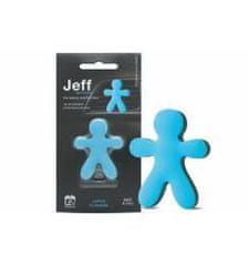 JEFF JEFF osviežovač vzduchu modrý soft - Lotus flowers
