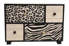 Sifcon Malá skrinka ANIMAL so zásuvkami, 30x21cm