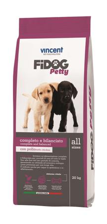 Vincent Fidog Petty suha hrana za pasje mladiče, 20 kg