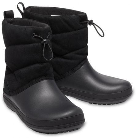 Crocs Crocband Puff Boot W Black W7 (37-38)