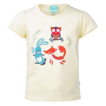 Bejo koszulka dziewczęca Sylvan 110 jasnożółta