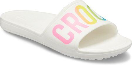 Crocs CrocsSloane Logo Mania Slide W White W10 (41-42)