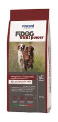 Vincent Fidog Vital Power suha hrana za aktivne odrasle pse, 20 kg