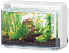 Hailea Natur Biotop akvárium E-60 - bílé