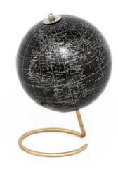 Sifcon Globus 15x20 cm, černý