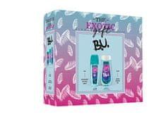 B.U. Hidden Paradise - deodorant s rozprašovačem 75 ml + sprchový gel 250 ml