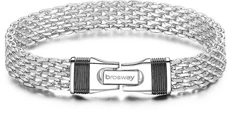 Brosway Férfi acél karkötő Uniform BNF11 (Hossza 21 cm)