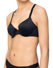 Calvin Klein Podprsenka s kosticí QF4082E-001 černá - Calvin Klein