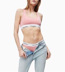 Calvin Klein Sportovní podprsenka F3785E-FPQ růžová - Calvin Klein + dárek zdarma