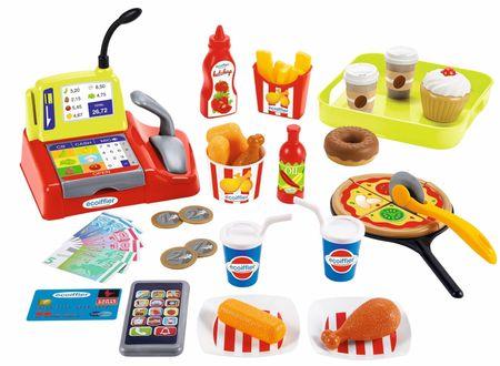 Ecoiffier Fast Food komplet za igranje