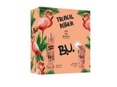 B.U. Tropical Passion - tělový závoj 200 ml + tělové mléko 50 ml