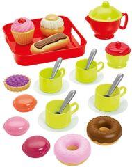 ECOIFFIER Teakészlet süteményekkel