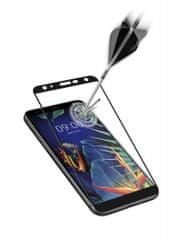 CellularLine zaščitno steklo za LG K40, črno