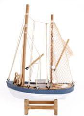 Sifcon Dekorácia - model plachetnice, 19x28cm