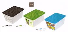 BRANQ Plastový kontajner s vekom Z-BOX 15l-P7115