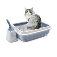 IMAC mačji WC z visokim robom in lopatko