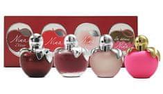 Nina Ricci Kolekce miniatur Nina - EDP 4 ml + EDT 3 x 4 ml
