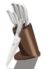 Berlingerhaus Sada nožů ve stojanu nerez Rosegold Metallic Line 6 ks - rozbaleno