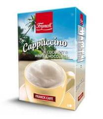 Franck cappuccino Kokos in bela čokolada, 148g