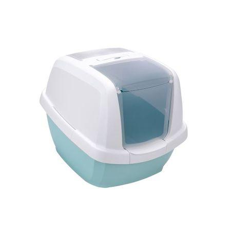 IMAC mačji WC s filtrom z aktivnim ogljem z lopatko, 62, moder