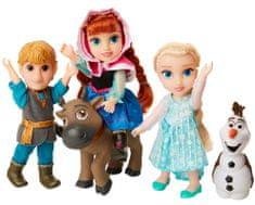 ADC Blackfire Frozen 2: Veľká súprava s figúrkami Anna, Elsa, Olaf, Kristoff 15 cm