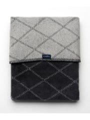 Womar Dětská bavlněná deka se vzorem Womar 75x100 grafitovo-šedá