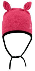 Yetty czapka dzianinowa z zajączkiem