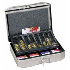 Durable Euro-pokladnička EUROBOXX 352x120x276mm strieborná