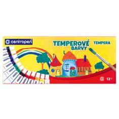 Centropen Temperové farby 12 farieb 12ml