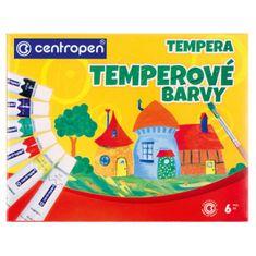 Centropen Temperové farby 6 farieb 12ml