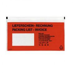 Herlitz Vrecká na sprievodky DL 110x220mm 100ks