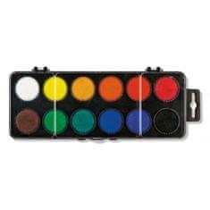 KOH-I-NOOR Školské vodové farby, 30mm, 12 farieb