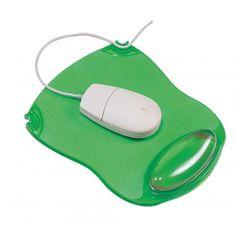 Q-Connect Podložka pod myš a zápästie gélovázelená