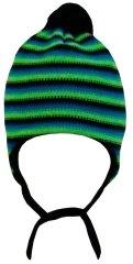 Yetty czapka dzianinowa w paski