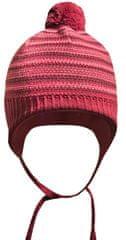 Yetty czapka dzianinowa z pomponem