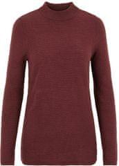 Vero Moda Dámsky sveter VMBOBBIE LS Highneck Blouse COLOR Port Royale