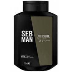 Sebastian Pro. Szampon przeciwłupieżowy dla mężczyzn SEB MAN The Purist (Purifying Shampoo) 250 ml