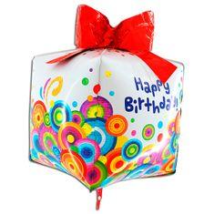 Grabo Nafukovací balónek narozeninový dárek 4D 76cm